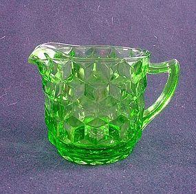 Cube Large Creamer - Green