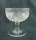 Iris & Herringbone Tall Sherbet - Crystal