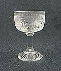 Iris & Herringbone Cocktail - Crystal