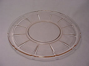 Victory Luncheon Plate - Pink