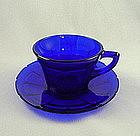 Victory Cup & Saucer Set - Cobalt