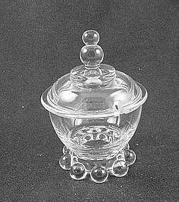 Imperial Candlewick Mustard Jar & Lid