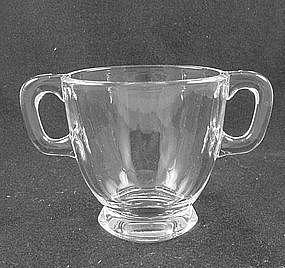Heisey Cabochon Sugar Bowl - Crystal