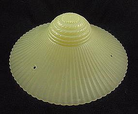 Bead Chain Ceiling Shade & Fixture - Yellow Petalware