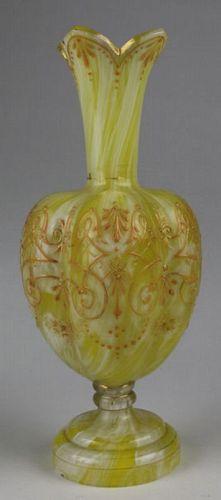 Art Glass Gourd Vase