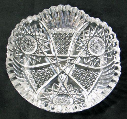 Cut Glass Bon Bon Dish