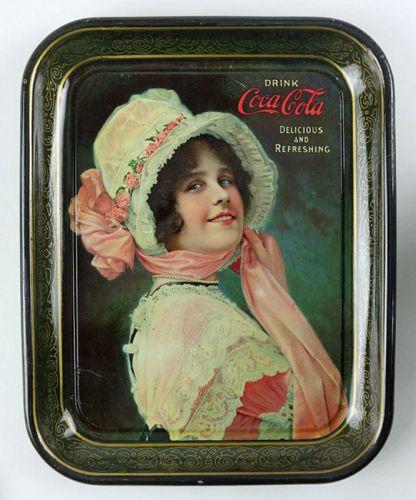 "1914 Coca-Cola ""Betty"" Serving Tray"