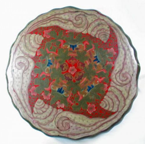 Chinese Lacquer Birthday Box