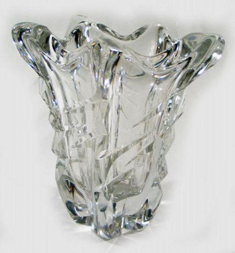 Daum Crystal Vase