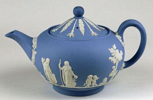Jasperware Teapot (Wedgwood)