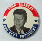John Kennedy Campaign Button