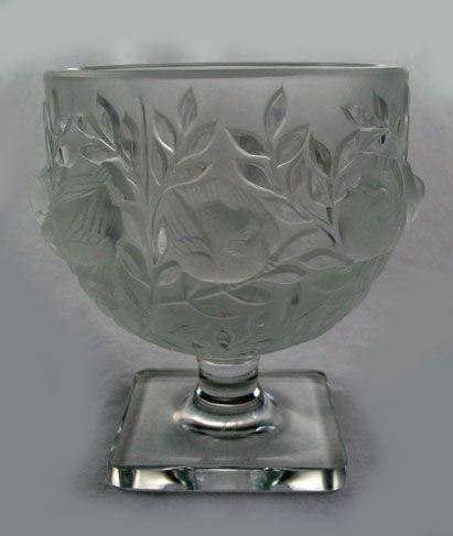 Lalique Elizabeth 12265 Vase