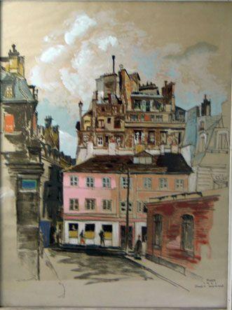 Paris (Serigraph)
