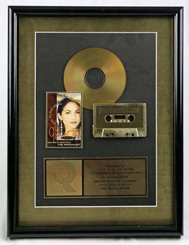 RIAA Gold Record Award - Turn the Beat Around