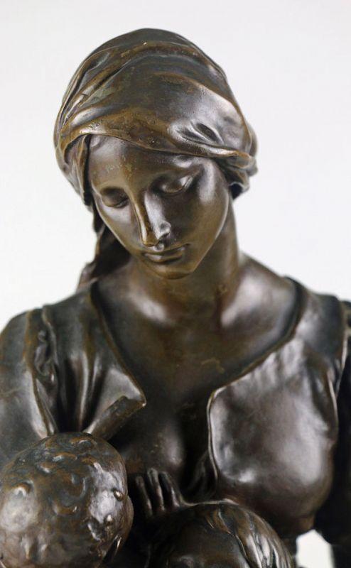 Charity, Bronze (Paul Dubois)