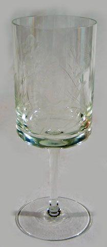 EAPG Flint Glass Water Goblet