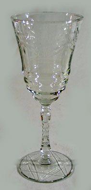 Flint Glass Wine Goblet