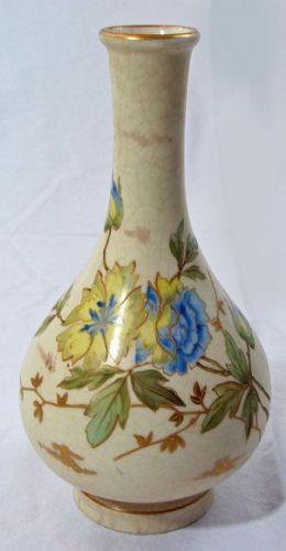 Carlsbad Porcelain Bottle Vase