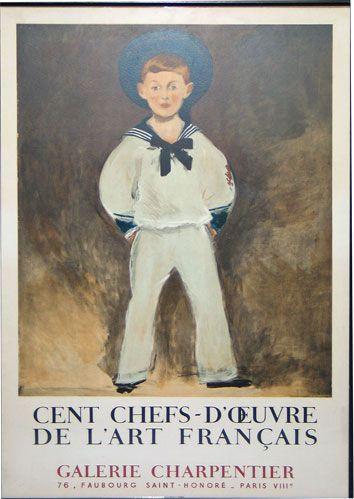 Galerie Charpentier Exhibition Poster 1957