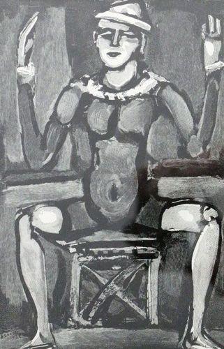 Clown Assis, Georges Rouault