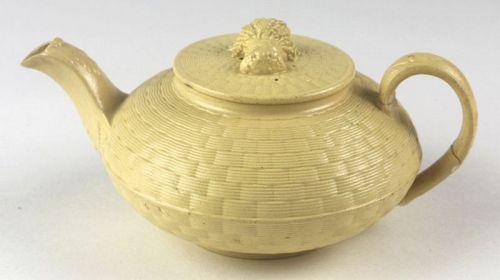 Wedgwood Caneware Batchelor's Teapot