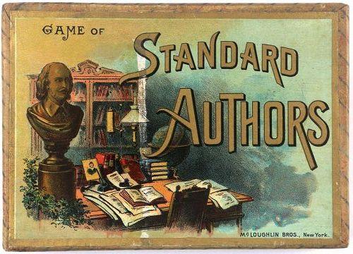 McLoughlin Bros Game of Standard Authors, c. 1894