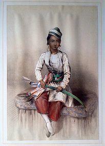 INDIAN EMILY EDEN 1840