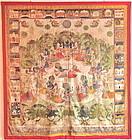 INDIAN PICHHAVI PAINTING 19TH CENTURY