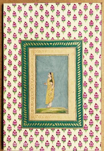 INDIAN  MUGHAL PAINTING