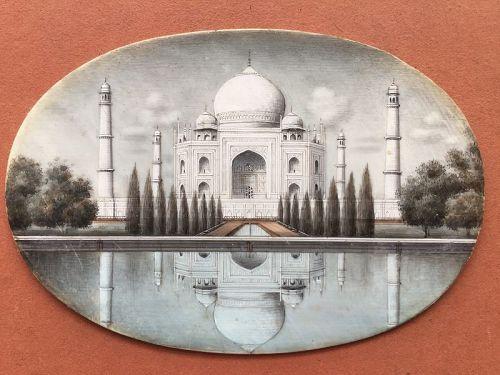 INDIAN PAINTING TAJ MAHAL