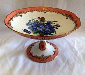 Paris porcelain compote c.1870 Ch.Pillivuyt