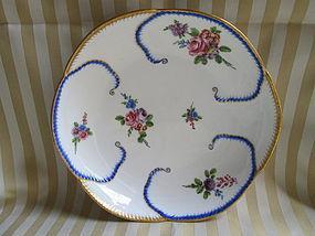 Sevres salad bowl �feuille de choux� 1763