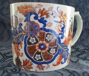 Spode Japonisme large mug circa 1820
