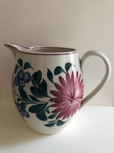 English large pitcher with bold decoration c. 1880