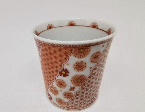 Kutani cup by Yoko Hasatani