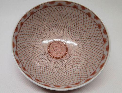 Kutani bowl by Yoko Hasatani