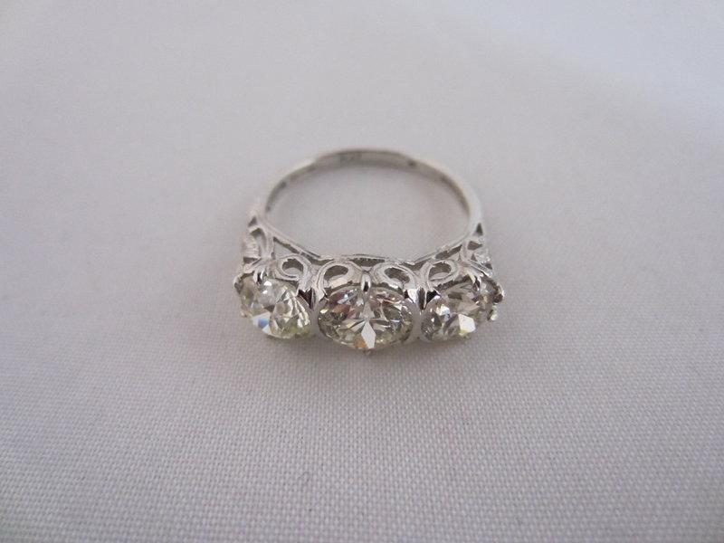 2.6 Carat Total Weight Diamond Ring