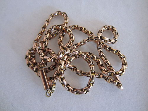 """9ct Rose Gold 24"""" Chain"""