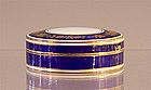 Cobalt Blue & Gold Enamel Box