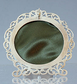 Round Sterling Picture Frame