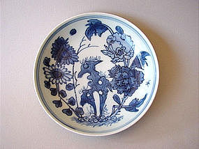 Extraordinary late Ming dish Xuande marked !
