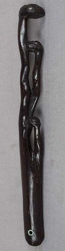 19c netsuke RUYI Buddhist scepter NYOI FUNGUS of IMMORTALITY