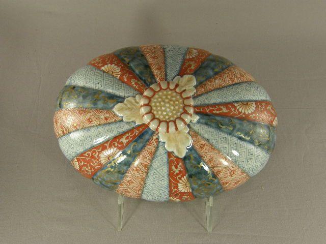 Japanese Imari Porcelain covered Tureen 18th Century