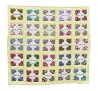 "Antique Hand Stitched Friendship Quilt, 80"" X 80"""