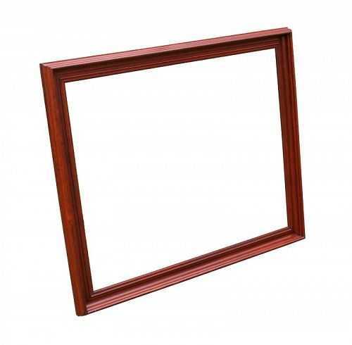 """EXTRA LARGE Victorian Walnut Frame, c.1870 35 1/2"""" X 29 1/2"""" Overall"""