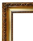 Original Gilded Molded Gesso And Gold Leaf Frame
