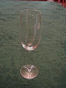 Crystal wine stems