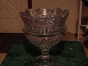 Beautiful lead crystal bowl