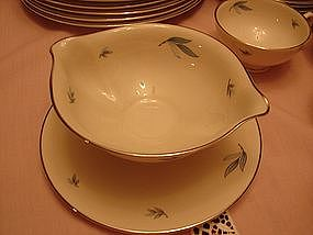 Syracuse Celeste china set