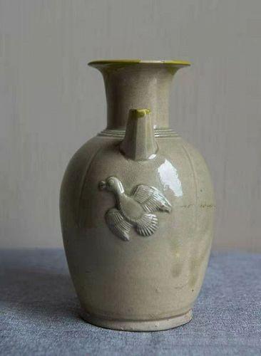 Chinese Tang Dynasty Changsha Celadon Ewer